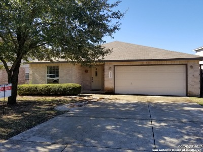 Bexar County Single Family Home New: 1619 Creek Knoll