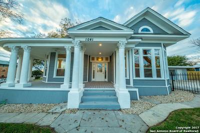 San Antonio Single Family Home New: 1041 S New Braunfels Ave