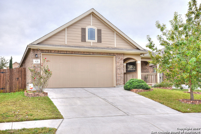 Cibolo Single Family Home New: 521 Saddlehorn Way