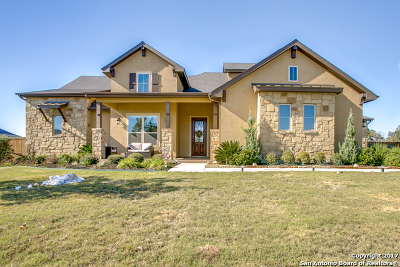 San Antonio Single Family Home New: 3314 Farley Rnch