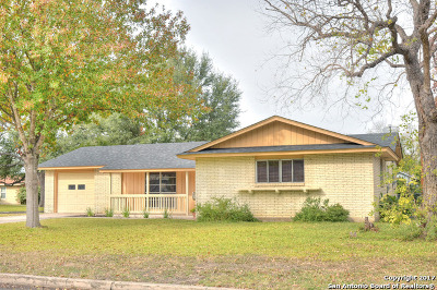 San Antonio Single Family Home New: 3803 Starhill Dr