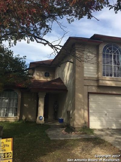 San Antonio Single Family Home New: 3621 Candlefire Cir