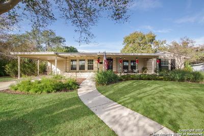 Terrell Hills Single Family Home New: 1129 Garraty Rd