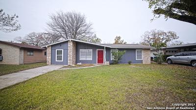 Kirby Single Family Home New: 5433 Borchers Drive