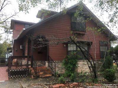 San Antonio Single Family Home New: 2614 Monterey St