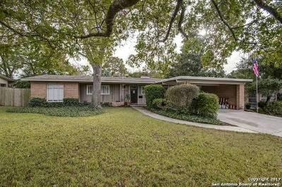 San Antonio Single Family Home New: 122 Ridgehaven Pl