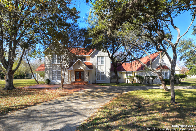 San Antonio Single Family Home For Sale: 200 Crest Trl
