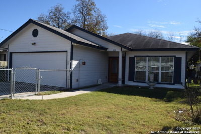 San Antonio Single Family Home New: 418 Sharmain Pl