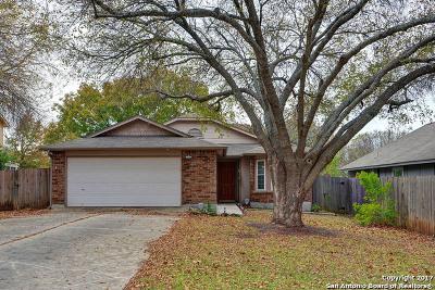 San Antonio Single Family Home New: 3318 Stoney Cluster