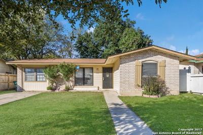 San Antonio Single Family Home New: 5431 Cervantes