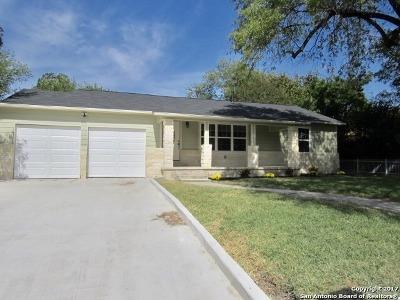 San Antonio Single Family Home New: 411 Beverly Dr