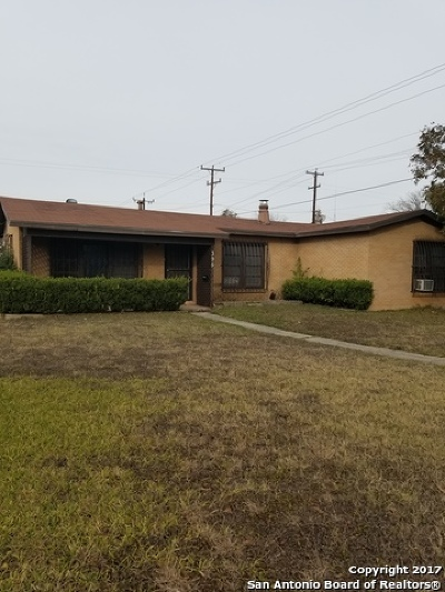 San Antonio Single Family Home New: 395 Anton Dr
