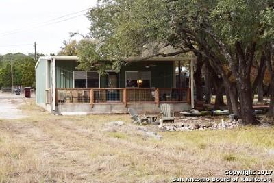 Canyon Lake Single Family Home New: 709 Clay Rdg