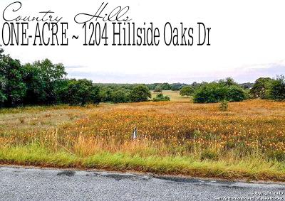 Wilson County Residential Lots & Land New: 1204 Hillside Oaks Dr