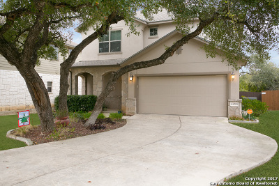 San Antonio Single Family Home New: 23203 Cardigan Chase