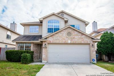 San Antonio Single Family Home New: 6122 Wood Pass