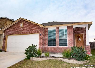 San Antonio Single Family Home New: 24210 Bitter Crimson