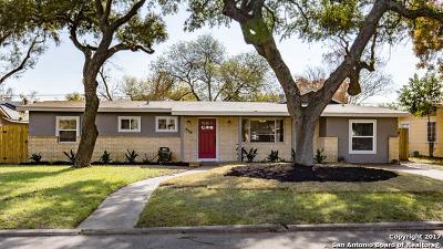 San Antonio Single Family Home New: 638 E Nottingham Dr