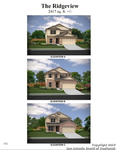 San Antonio Single Family Home New: 5907 Bridle Bend