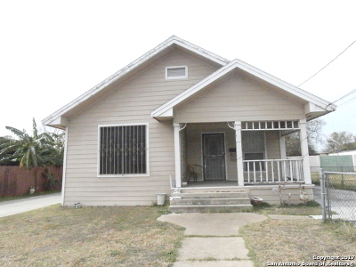 San Antonio Single Family Home New: 4815 S Flores St