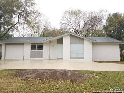 San Antonio Single Family Home New: 4035 Big Meadows St