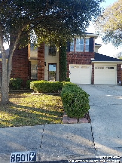 San Antonio Single Family Home New: 8601 Wood Forest Dr