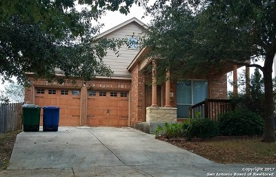 San Antonio Single Family Home New: 2219 Bigmouth Rod
