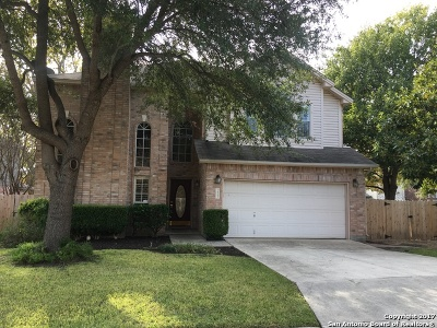 San Antonio Single Family Home New: 15263 Spring Cor