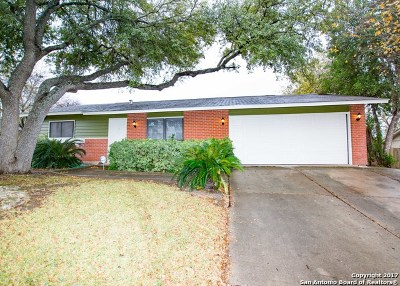 San Antonio Single Family Home For Sale: 3300 Shady Springs Dr