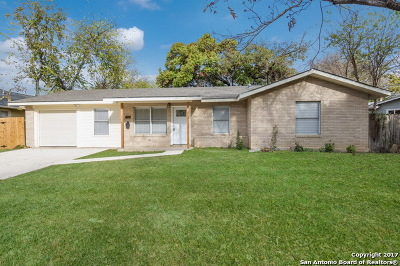 Bexar County Single Family Home New: 677 E Woodlawn Ave