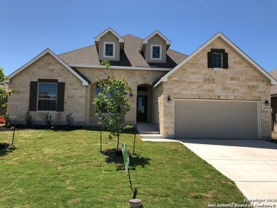 Bexar County Single Family Home New: 8743 Winchester Way