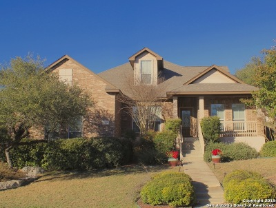 Bexar County Single Family Home New: 7643 Moss Brook Dr