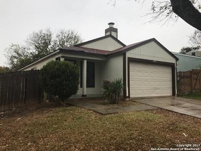 San Antonio TX Single Family Home New: $89,900