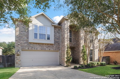 Heights At Stone Oak Single Family Home For Sale: 23514 Enchanted Fall