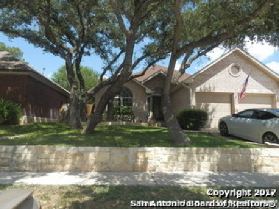 Bexar County Single Family Home Back on Market: 1102 Saxonhill Dr