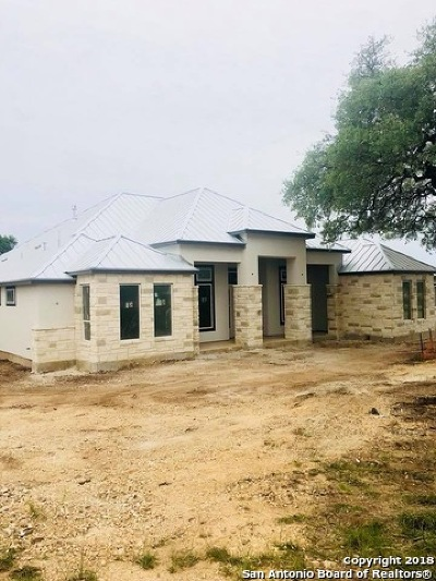 New Braunfels Single Family Home For Sale: 607 Battistrada