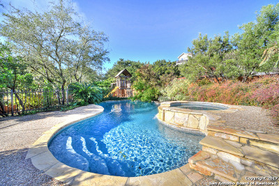 San Antonio Single Family Home Price Change: 16823 Mossford