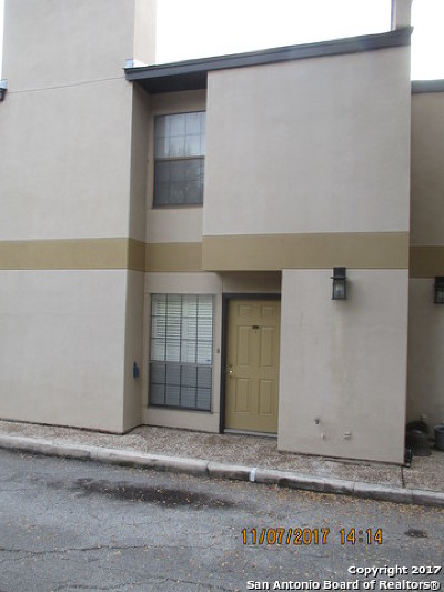 Alamo Heights Condo/Townhouse For Sale: 132 Grove Pl #4-A