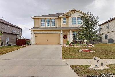 Schertz Single Family Home For Sale: 509 Whittmen Ave