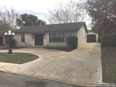 San Antonio TX Single Family Home Back on Market: $159,000