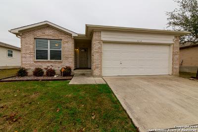 Schertz Single Family Home For Sale: 6112 Black Butte