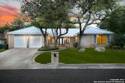 San Antonio Single Family Home Back on Market: 19911 Encino Grove