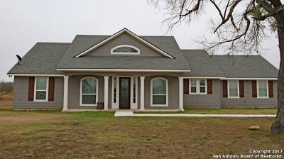 Hondo Single Family Home For Sale: 1626 Fm 2676