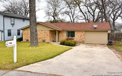 New Braunfels Single Family Home Price Change: 133 Woods End