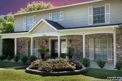 Castle Hills Single Family Home For Sale: 149 Trillium Ln