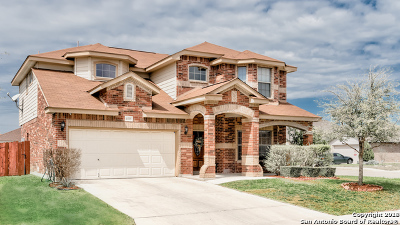 Helotes Single Family Home Price Change: 10423 Pecne Path