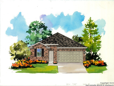 Converse Single Family Home For Sale: 10406 Francisco Way
