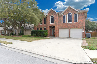 Schertz Single Family Home Price Change: 384 Frank Baum Dr
