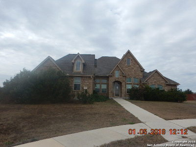Schertz Single Family Home For Sale: 10600 Penny Parkway