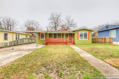 San Antonio Single Family Home Back on Market: 151 Future Dr